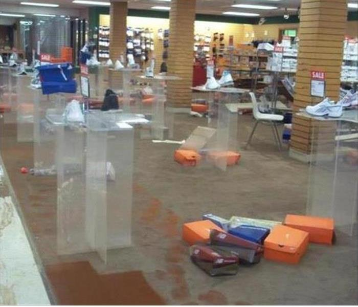 Big Shoe Box Store in St. Petersburg Suffers Water Damage